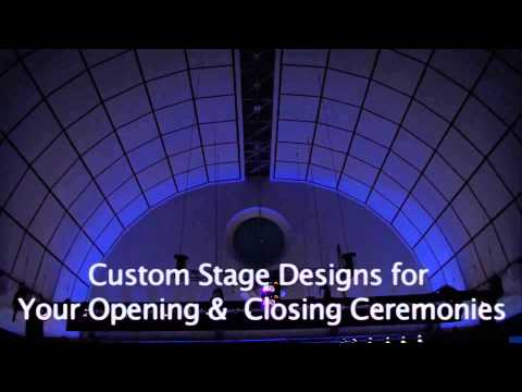 CSG Global Hynes Convention Center Laser Show