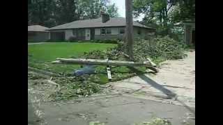 Tornado/Straight Line Winds Damage- Battle Creek, MI