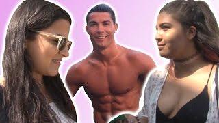 Girls React To Ronaldo, Ibrahimovic And Fabregas' Holiday Photos