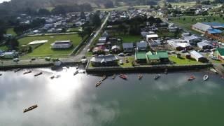 Nehuentue en la IX Región de Chile...vista desde un dron