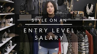 How To Build A Wardrobe On An Entry Level Salary
