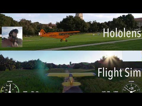 First Real World Flight of a Microsoft Flight Simulator Plane
