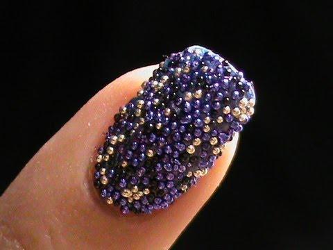 caviar nails diy bead