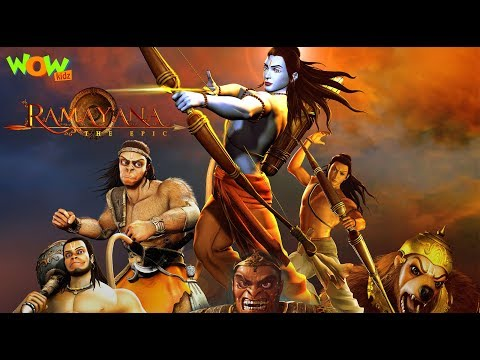 Ramayana The Epic - English Movie - Animated Devotional Stories For Kids - WowKidz