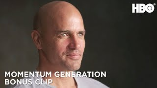 Kelly Slater and Co. Open Up About Text Thread | Momentum Generation | HBO
