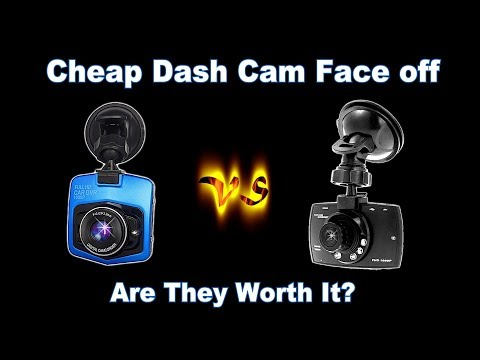 🚗   REVIEW:  Cheap Dash Cam Vs Cheap Dash Cam.  Real World Side By Side Testing And Comparison.