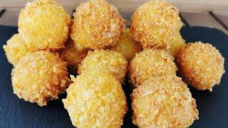 Bolitas de queso en 10 minutos con pocos ingredientes | Receta fácil | @Cocinando con Jenny