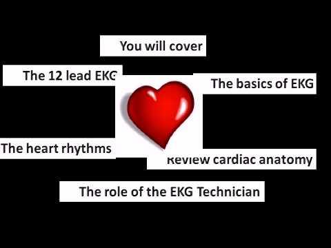 EKG Certification Exam Test Prep Course - YouTube
