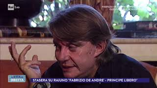 La storia di Fabrizio De Andrè - La Vita in Diretta 13/02/2018