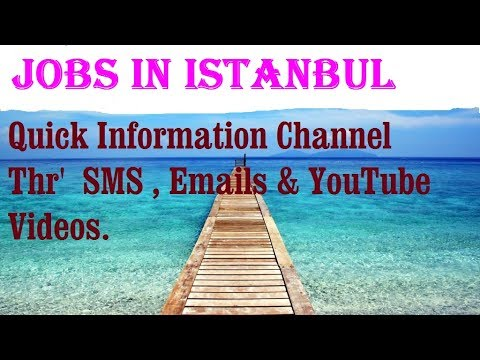 Jobs in ISTANBUL    City for freshers & graduates. industries, companies.  TURKEY.