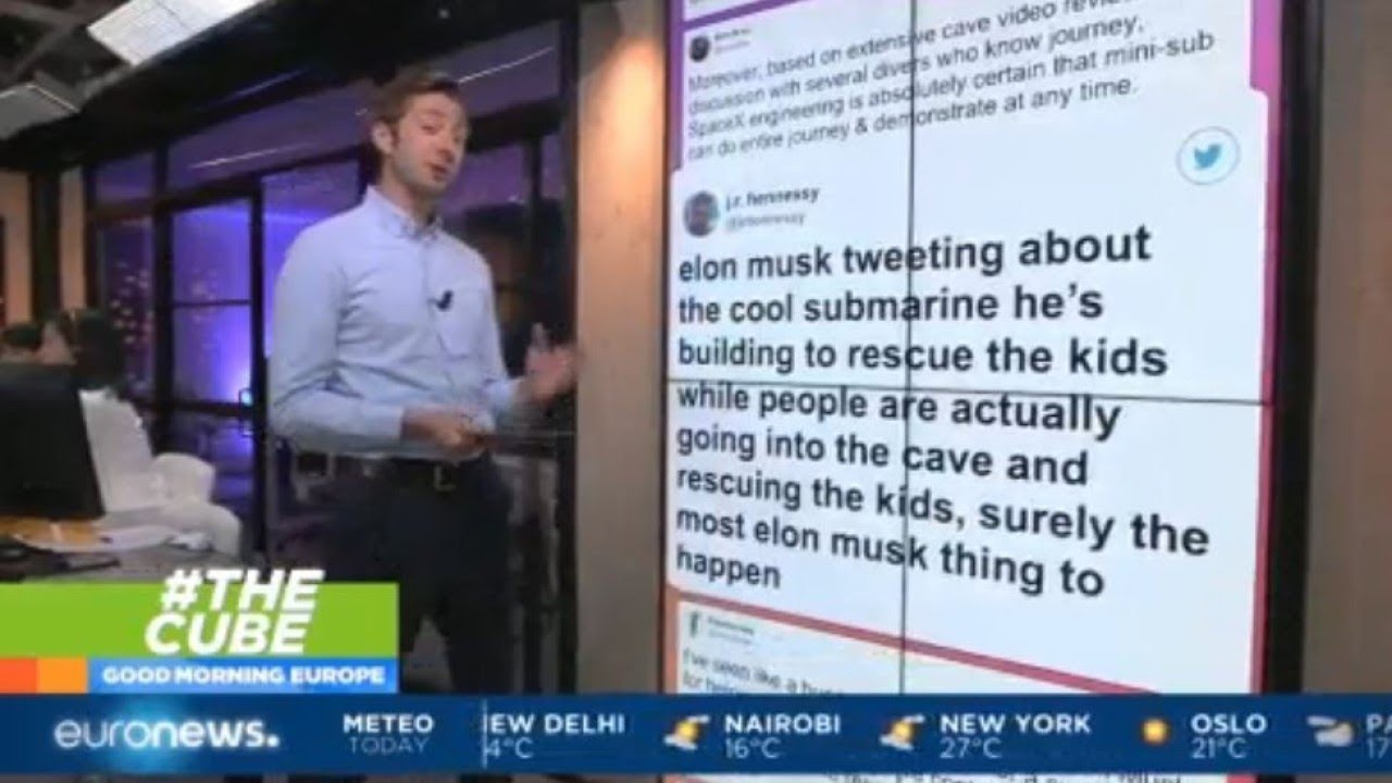 #TheCube | Elon Musk has been criticised for his own Thai cave rescue plan