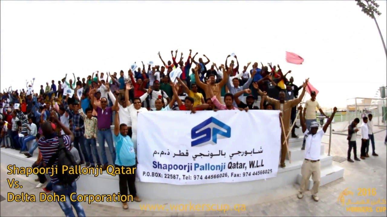 Match 4: Shapoorji Pallonji Qatar VsDelta Doha Corporation - Score 2-3
