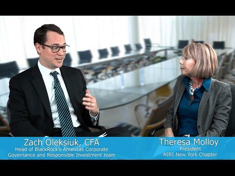 Shareholder Engagement w/ Zach Oleksiuk of BlackRock