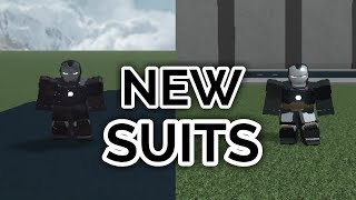 NEW SUITS! | Iron Man Simulator | ROBLOX