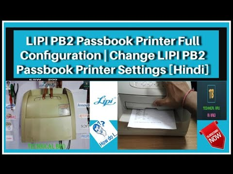 lipi passbook printer driver for windows 7