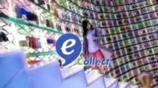 加藤ローサ、デビット伊東主演 sagawa express e-collect 2005年.