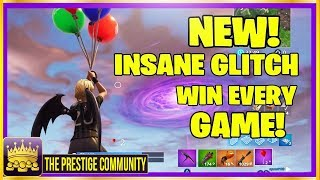 NEW Fortnite Balloons Glitch! ⚠ Game Breaking ⚠ (Ps4, Xbox One, PC)