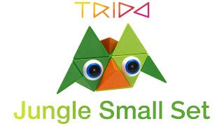 Trido Jungle Small Set - How to build an Angry Hog