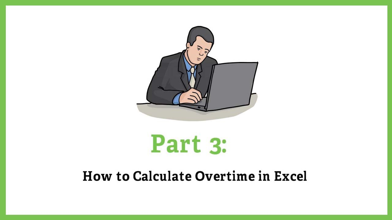 Calculate Overtime Hours in Excel - calculate timesheets
