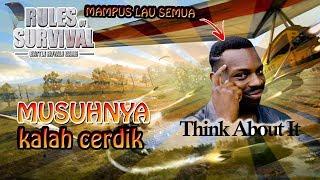 INI BARU NAMANYA CERDAS !! - Rules of Survival Indonesia