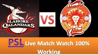 PSL Live Match Watch Today Online