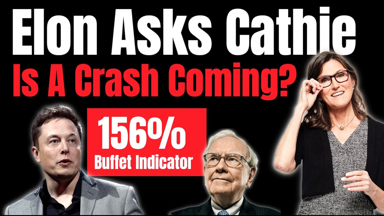 Elon Musk Asks Cathie Wood About The Buffet Indicator! Is The Stock Market Overvalued?