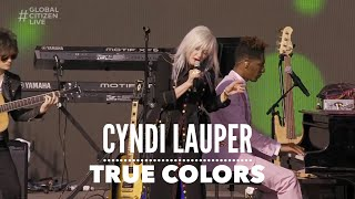 Cyndi Lauper – True Colors with Jon Batiste at Global Citizen Live