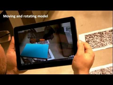 VRINMOTION: Use of Augmented Reality  in the furniture industry   2010-2012