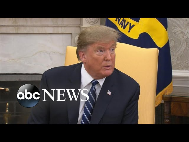 Trump weighs in on potential release of the Mueller report
