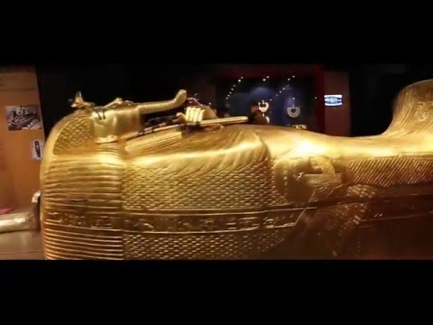 The Discovery Of King TUT Exhibition.NYC