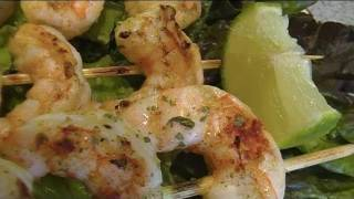 Spicy-lime Grilled Shrimp