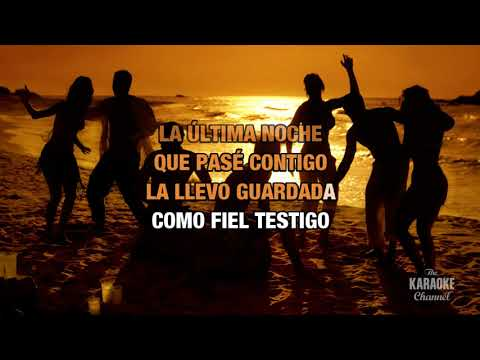 La Última Noche : Luis Miguel | Karaoke With Lyrics