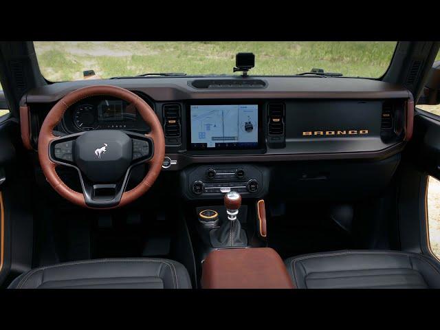 2021 Ford Bronco - Two Door and Four Door Interior