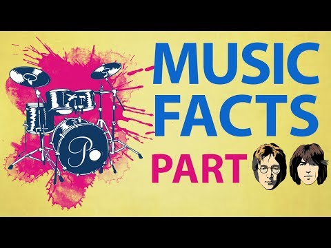 8 Interesting Music Facts Part 2  Music Facts Part 2