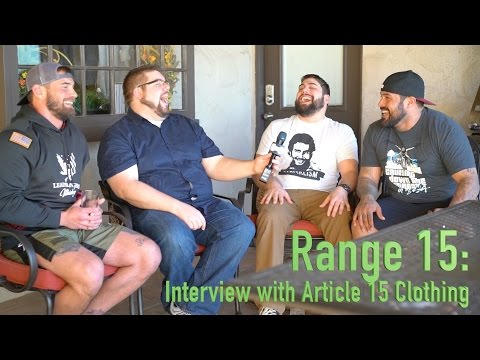 Range 15 Interview with Article 15 Clothing - SHOT Show 2016