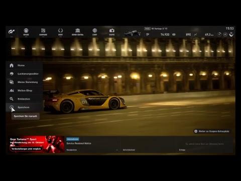 Gran Turismo Sport Beta Live Stream Deutsch (German)