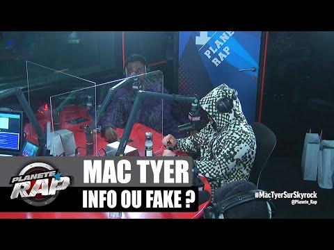 Youtube: Kalash Criminel connaît bien Mac Tyer? INFO ou FAKE? #PlanèteRap