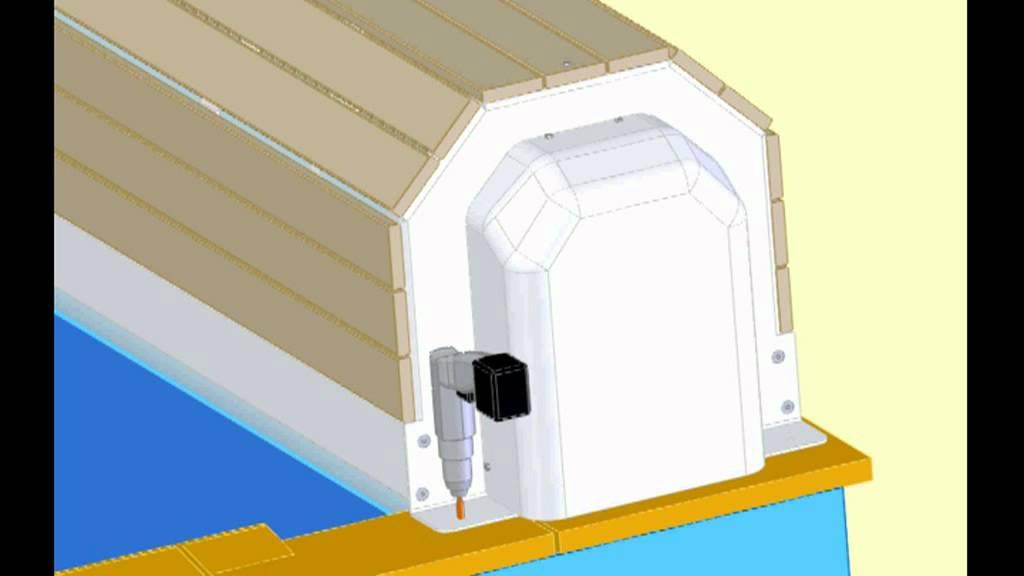 montage eca rollladenabdeckung narbonne von astralpool doovi. Black Bedroom Furniture Sets. Home Design Ideas