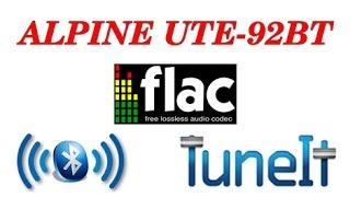 Alpine UTE-92BT Качество звука Flac, Bluetooth, USB и не работающее приложение.