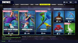 FORTNITE | Boutique du 15 juin SKINS FOOTBALL (SOCCER SKINS)