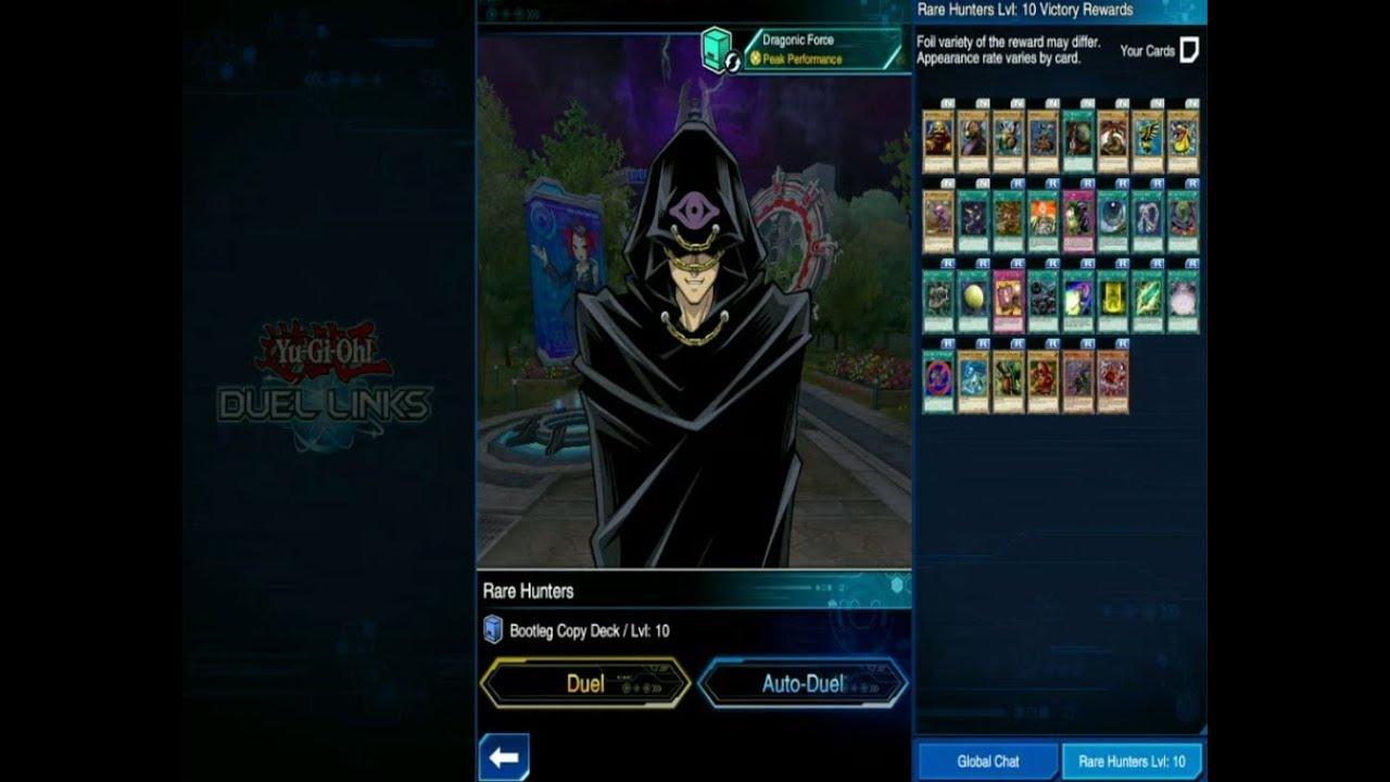 Rare Hunter Gauntlet - Yu-Gi-Oh! Duel Links Episode 46