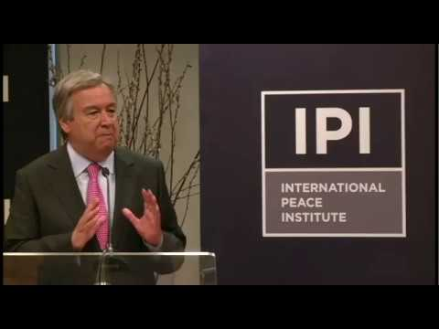 A Dialogue with UN High Commissioner for Refugees, António Guterres