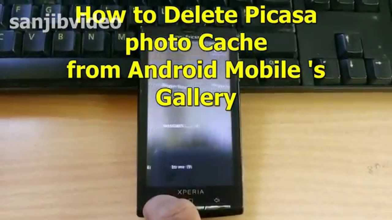 How to delete scrapbook photos google+ - How To Delete Clear Picasa Photo Album Cache From Android Mobile S Gallery Step By Step