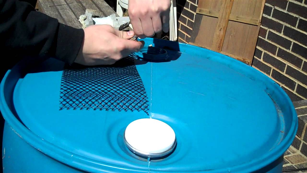 A Full Tutorial Of Rain Water Barrel Setup Youtube