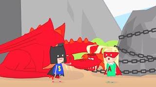 Супер герои 🐉🎭🧚♀️ - Смарта и чудо-сумка