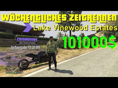 GTA 5 ONLINE ZEITRENNEN - LAKE VINEWOOD ESTATES | +101.000$ | Abkürzungen, Tipps & Tricks