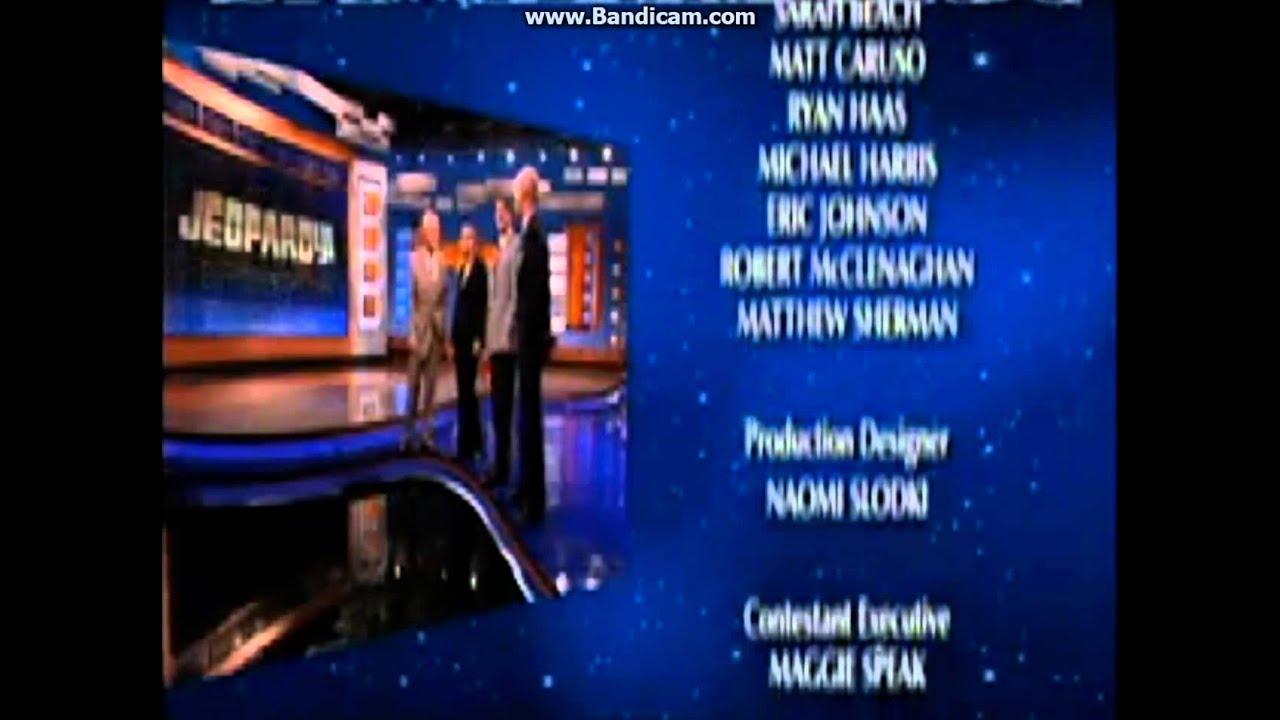 Jeopardy Full Credit Roll 10 16 2007 Hd