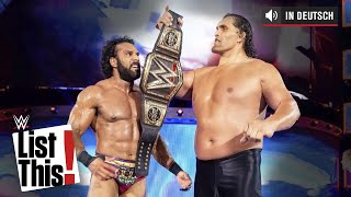 Zufällige gewählte Superstar-Comebacks - WWE List This! (DEUTSCH)