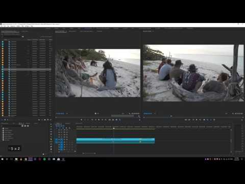 Premiere Pro CC 2017 - Watch me work - (Making Selects)