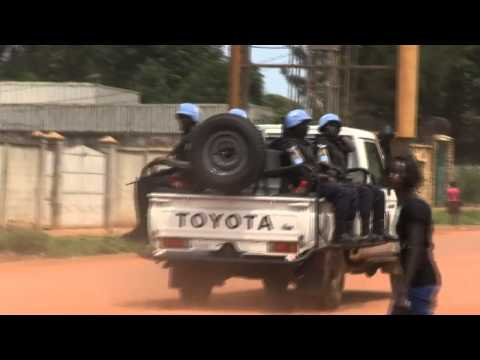 Bangui Residents React As UN Starts Peacekeeping Mission